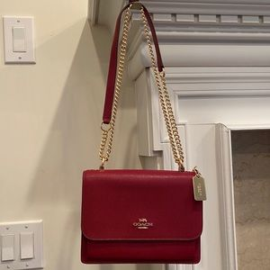 NWT Authentic COACH 91174 KLARE CROSSBODY Bag RED